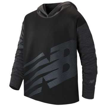 New Balance Hooded Pullover, Black