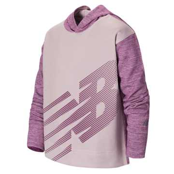 New Balance Hooded Pullover, Conch Shell Heather