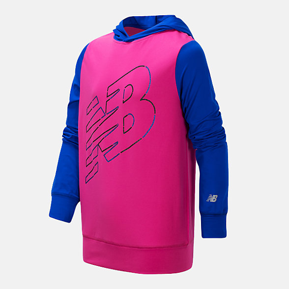 New Balance Hooded Pullover, GT15283CAP