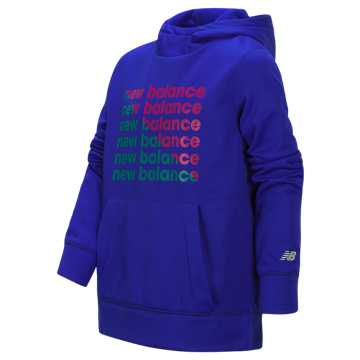 New Balance Graphic Hoodie, UV Blue