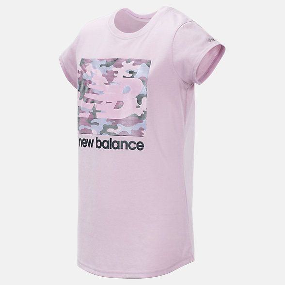 New Balance Short Sleeve Graphic Tee, GT15288OPK