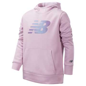 New Balance Graphic Hoodie, Oxygen Pink