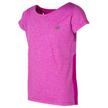 New Balance Short Sleeve Cationic Top, Flutter
