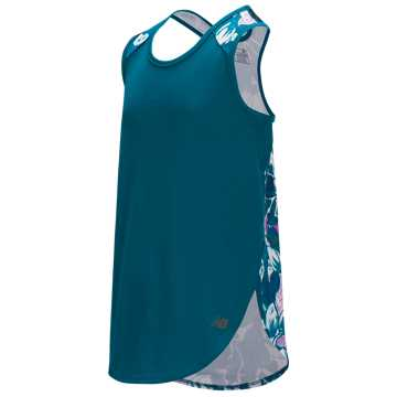 New Balance Fashion Performance Tank, Lake Blue
