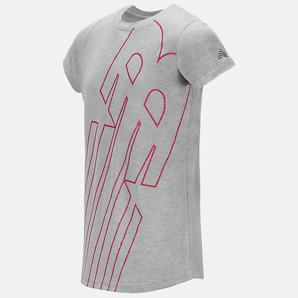 New Balance Short Sleeve Graphic Tee, GT18228STE