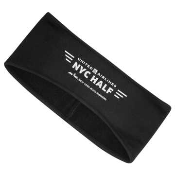 New Balance NYC Half Ear Warmer Headband, Black
