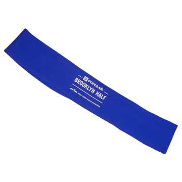 New Balance Brooklyn Half Wisp Away Headband, Blue