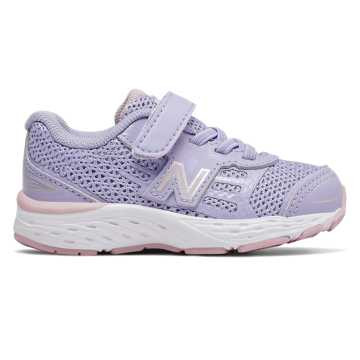 New Balance 680v5, Clear Amethyst with Oxygen Pink