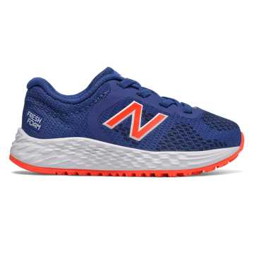 New Balance Bungee Lace Fresh Foam Arishi v2, Team Royal with Alpha Orange