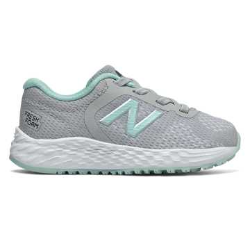 New Balance Bungee Lace Fresh Foam Arishi v2, Light Aluminum with Light Reef