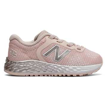 New Balance Bungee Lace Fresh Foam Arishi v2, Oyster Pink with Pink Mist