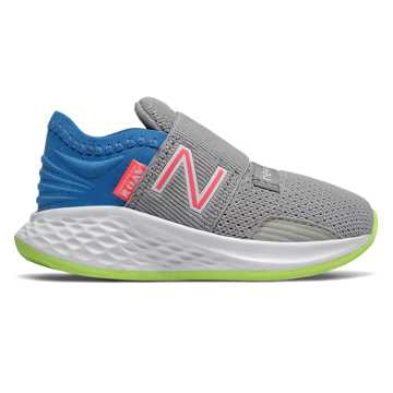 New Balance Slip-on Fresh Foam Roav, Rain Cloud with Light Cobalt