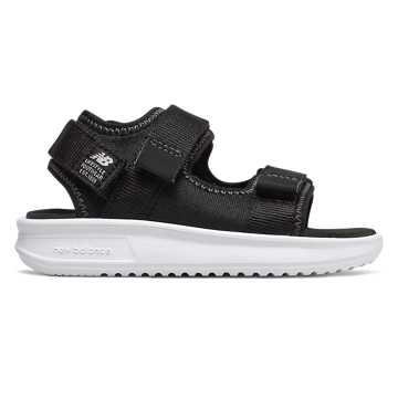 New Balance 750系列儿童休闲凉鞋, 黑色