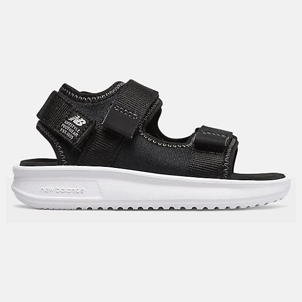 New Balance 750系列儿童休闲凉鞋, IH750BK