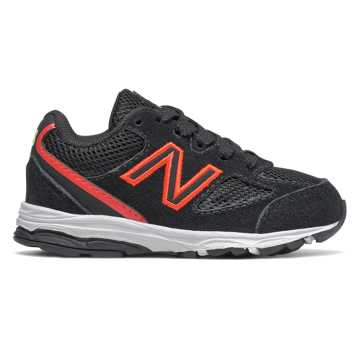 New Balance 888v2, Black with Neo Flame