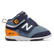 New Balance 223, Navy with Orange