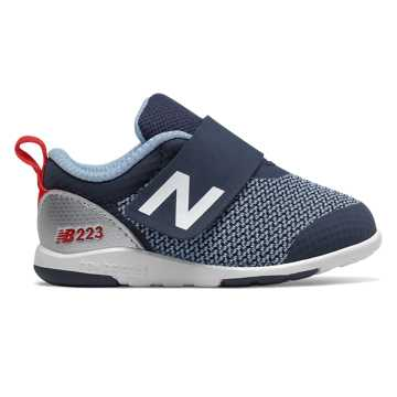 New Balance IO223, Navy with Red