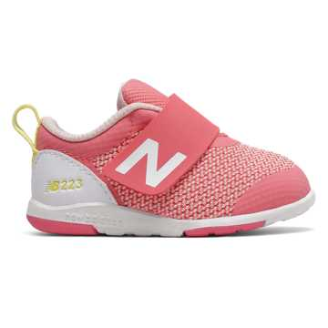 New Balance IO223, Pink with Yellow