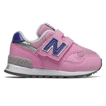 New Balance 313系列兒童休閑運動鞋, 粉色