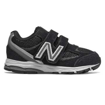 New Balance Hook and Loop 888v2, Black with Grey