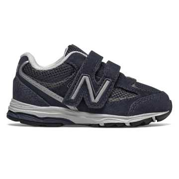 New Balance Hook and Loop 888v2, Navy with Grey