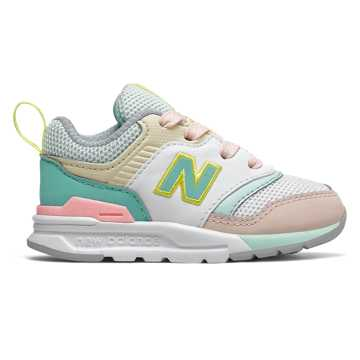 New Balance 997H, Light Tidepool with Oyster Pink  - Lace
