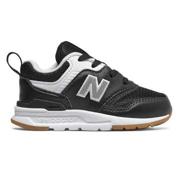 New Balance 997H, Black with Silver - Lace