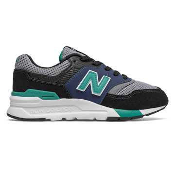 New Balance 997H, Black with Verdite