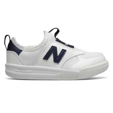 New Balance 300系列儿童休闲运动鞋, 白色