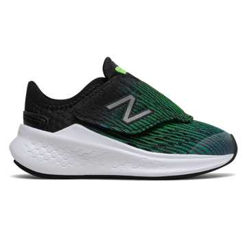New Balance Hook and Loop Fresh Foam Fast, Deep Ozone Blue with RGB Green & Black