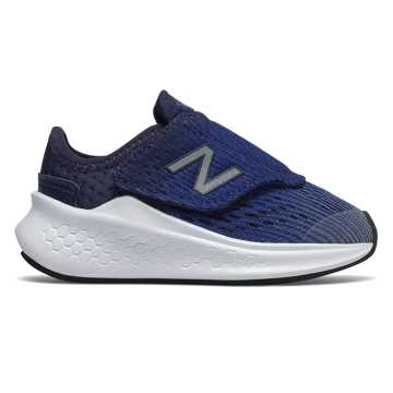 New Balance Hook and Loop Fresh Foam Fast, Light Aluminium with Team Royal & Pigment