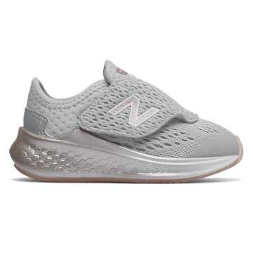 New Balance Fresh Foam Fast Hook and Loop, Summer Fog with Champagne Metallic