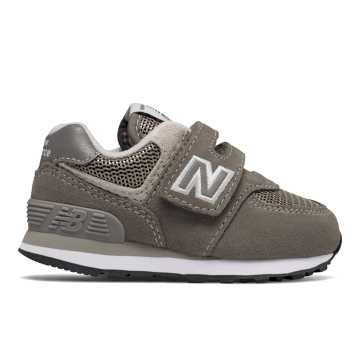 New Balance Hook and Loop 574 Core, Grey