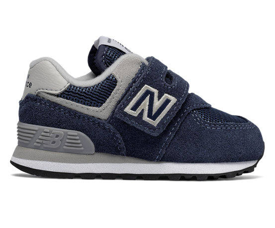 new balance enfants 574 core classic chaussures navy