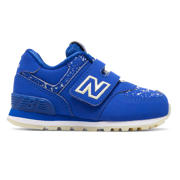NB 574 Glow in the Dark, Royal Blue