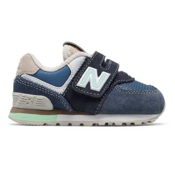 New Balance 574 Retro Surf, Navy with Vintage Indigo