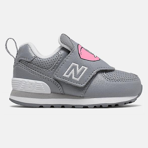 New Balance 574动物系列儿童休闲运动鞋, IV574ZOE
