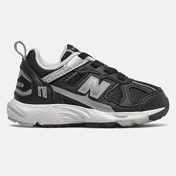 New Balance 878系列儿童休闲运动鞋, IV878KBG
