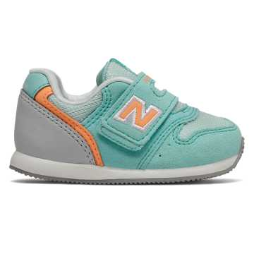 New Balance 996系列儿童休闲运动鞋 脚感舒适 ?#35033;?#32784;磨, 薄荷绿