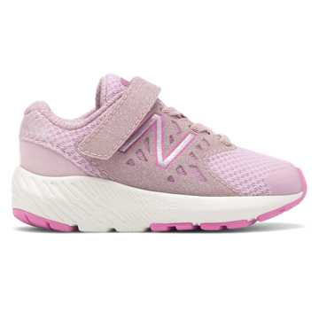 New Balance Hook and Loop FuelCore Urge, Oxygen Pink with Light Carnival