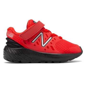 New Balance Hook and Loop FuelCore Urge, Velocity Red with Black