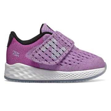 New Balance Hook and Loop Fresh Foam Zante Pursuit, Dark Violet Glo with Black