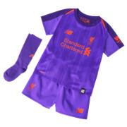 NB LFC FC Away Baby Kit - Set, Deep Violet