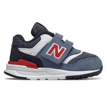 New Balance 997H系列兒童休閑運動鞋, 藍色