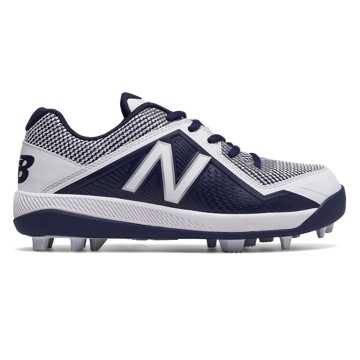 New Balance Junior 4040v4 Rubber Molded, Navy with White