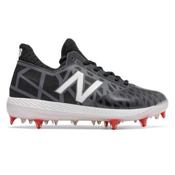 New Balance Junior COMPv1, Black with White