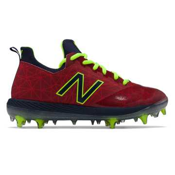 New Balance Lindor Elite Youth, Red with Navy