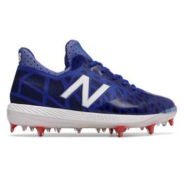 New Balance Junior COMPv1, Royal Blue with White