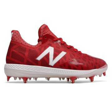 New Balance Junior COMPv1, Red with White
