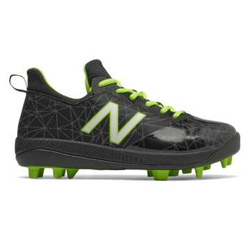 New Balance Lindor Pro Youth, Black with Hi Lite
